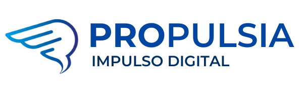 logo propulsia impulso digital